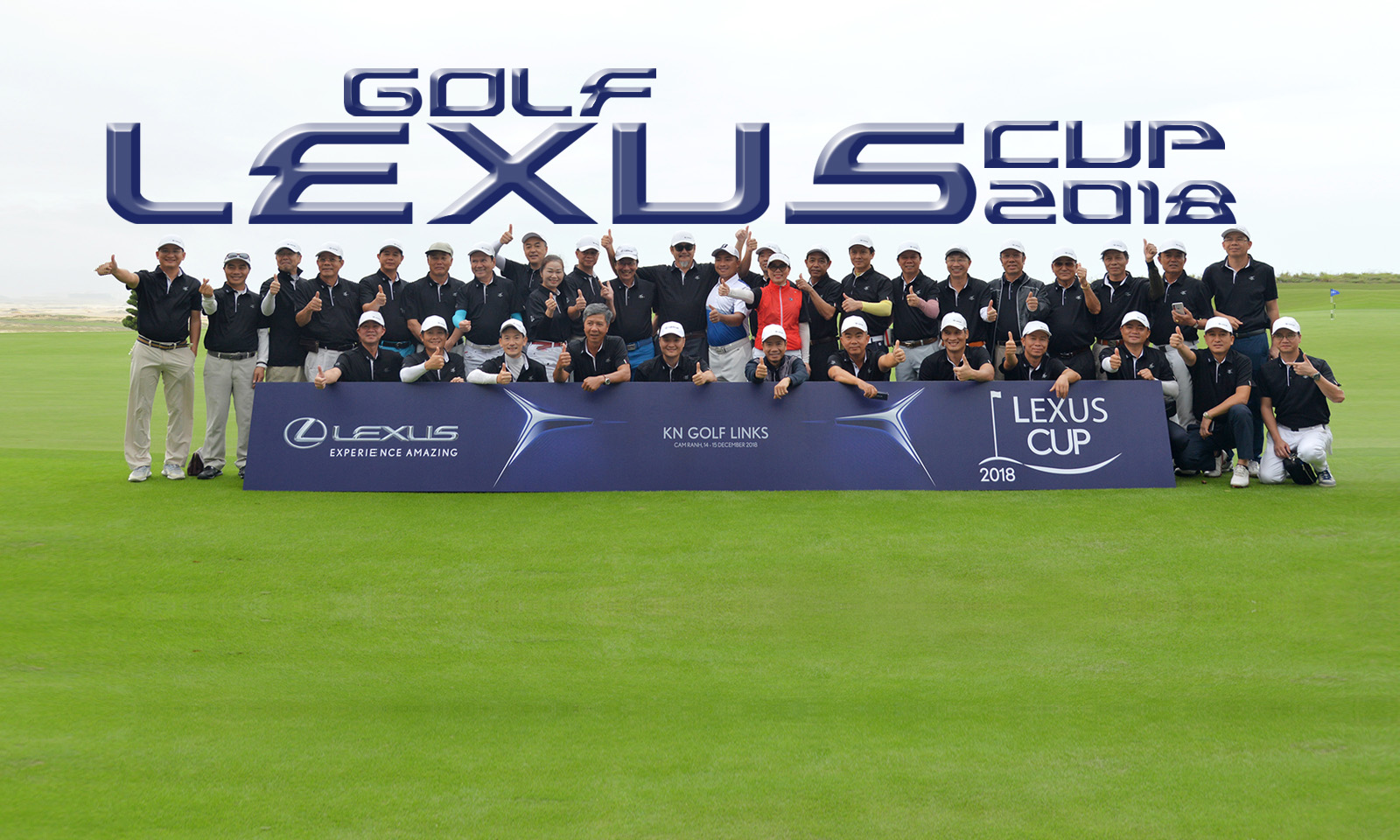 Golf Lexus Cup 2018: Hành trình truyền cảm hứng với trải nghiệm đẳng cấp