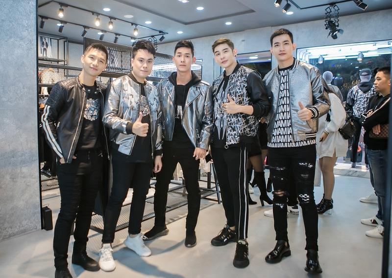 Song Luân, Cường Seven cùng dàn mỹ nam đọ dáng tại sự kiện của NTK Chung Thanh Phong