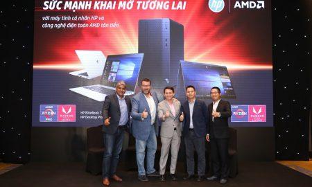 Dòng laptop mới của HP không chỉ đẹp mà còn mạnh hơn nhờ trang bị công nghệ AMD