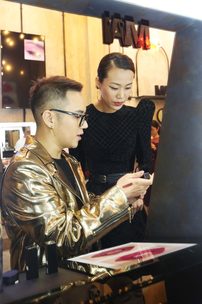 NTK Chung Thanh Phong giới thiệu về dòng mỹ phẩm mới