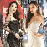"""""""Hiệp hội bánh bèo cá tính"""" khoe dáng tại sự kiện ra mắt của NTK Chung Thanh Phong"""