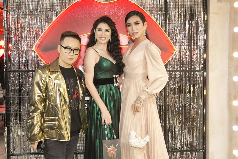 Người mẫu Trang Trần và diễn viên BB Trần