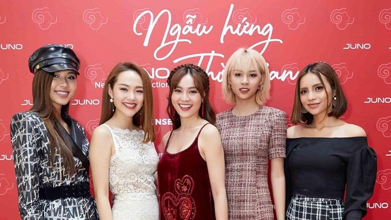"""Dàn sao Việt khoe nhan sắc mặn mà cùng BST """"Ngẫu hứng thời gian"""""""