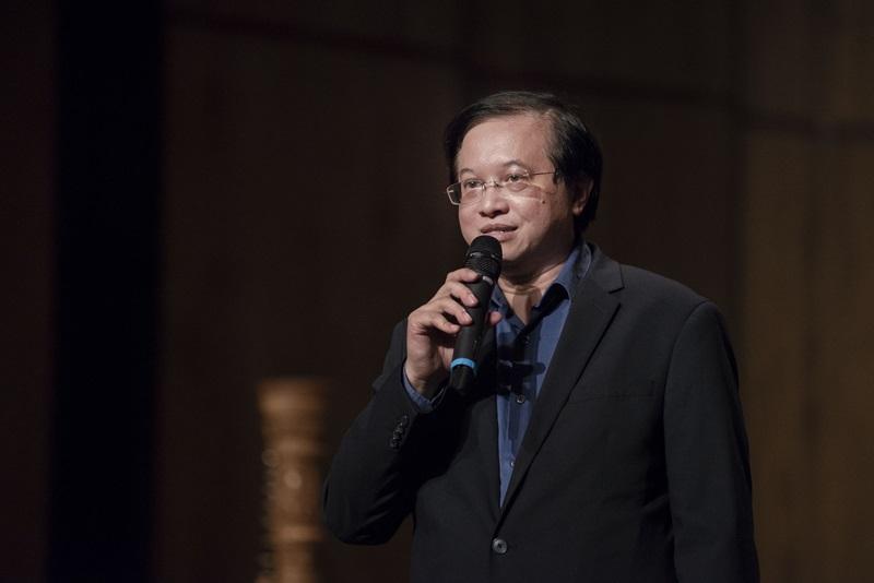 Phó giáo sư, tiến sĩ Tạ Quang Đông - Giám đốc Nhạc viện thành phố Hồ Chí Minh cũng đặt niềm tin vào các hoạt động tương lai của dàn nhạc Trẻ Sài Gòn SPYO.