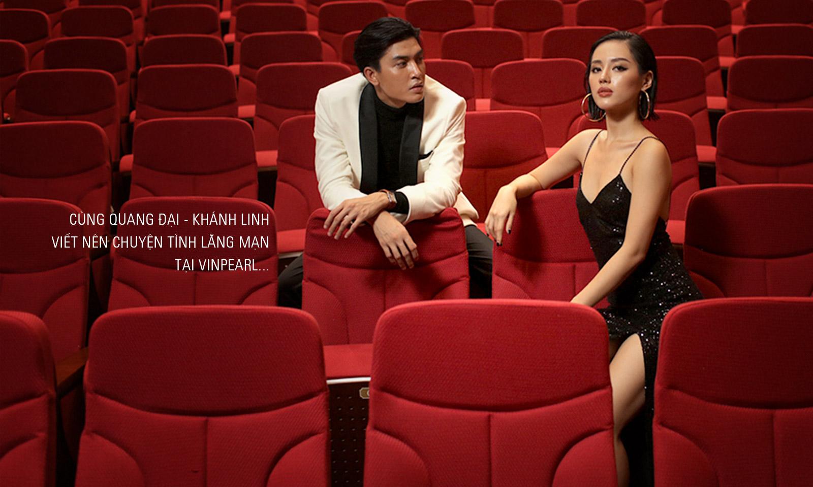 Cùng Quang Đại – Khánh Linh: Viết nên chuyện tình lãng mạn tại Vinpearl
