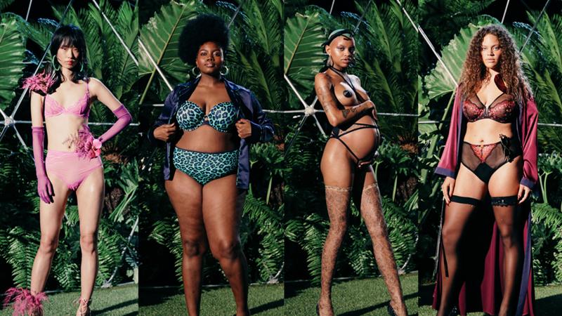 BST đồ lót Savage x Fenty lần đầu tiên ra mắt tại Tuần lễ Thời trang New York Xuân Hè 2019 đã ngay lập tức thu hút mọi sự chú ý bởi các thiết kế phù hợp cho nhiều đối tượng phụ nữ khác nhau, không cần sở hữu vóc dáng đẫy đà, thon gọn vẫn có thể trở nên quyến rũ.