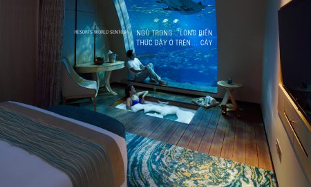 Resorts World Sentosa: Ngủ trong… lòng biển, thức dậy ở trên… cây