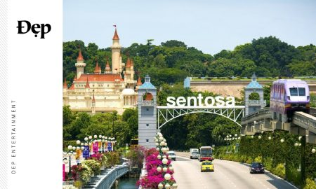 {ĐẸP PLACES} NƠI TÌNH YÊU THĂNG HOA - RESORTS WORLD SENTOSA SINGAPORE