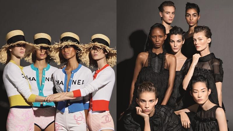 Vẻ đẹp sang trọng và thuần khiết xuyên suốt chiến dịch quảng cáo Xuân Hè 2019 của Chanel