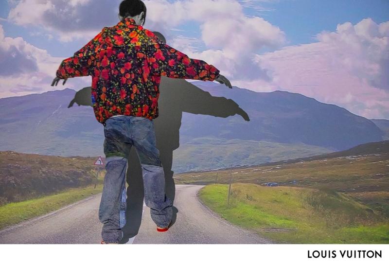 Bắt đầu bước vào đường đời khi thành một cậu trai tuổi teen, nam diễn viên Luke Prael (17 tuổi) xuất hiện với thiết kế áo sơ-mi in hoa và quần jeans ống thụng.