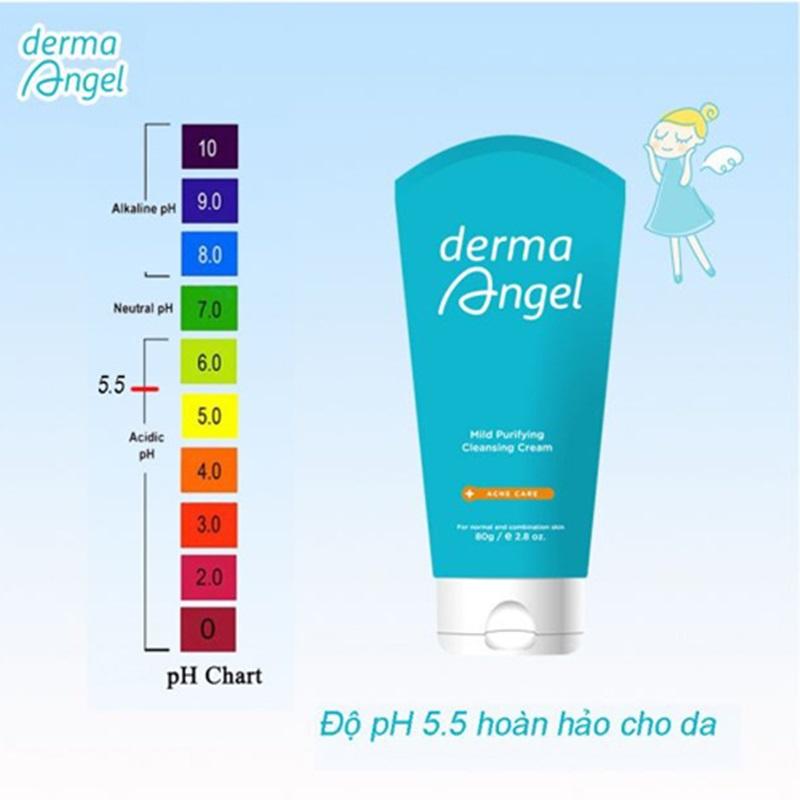 Sữa rửa mặt ngăn ngừa mụn dermaAngel.