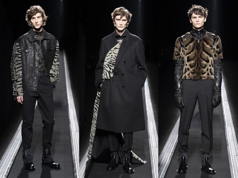 Ý tưởng mặc áo giáp cho suit được thể hiện xuyên suốt trong BST Thu Đông 2019 của Dior Homme, với nhiều điểm nhấn nhá như họa tiết da thú.
