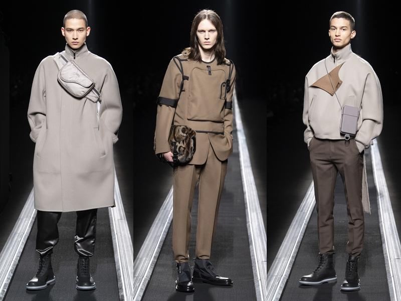 Ngoài ra còn có các thiết kế phối khóa kéo, phom rộng và sáng tạo từ kiểu jacket cổ điển.