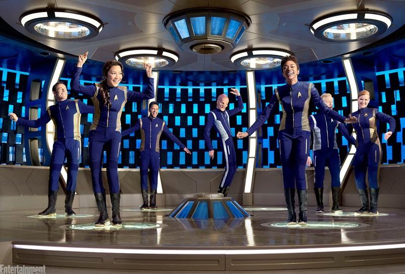 """Năm 2017, bà (trái) đóng vai Philippa Georgiou - cơ trưởng tàu vũ trụ đầy uy quyền trong series truyền hình """"Star Trek: Discovery"""""""