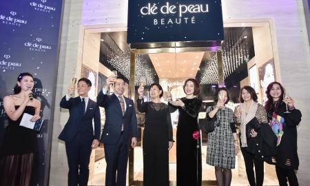Khám phá cửa hàng Clé de Peau Beauté đẳng cấp nhất tại Việt Nam