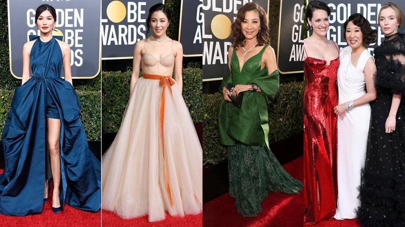 Mỹ nhân châu Á sang trọng và quyến rũ tuyệt đối trên thảm đỏ Quả Cầu Vàng 2019