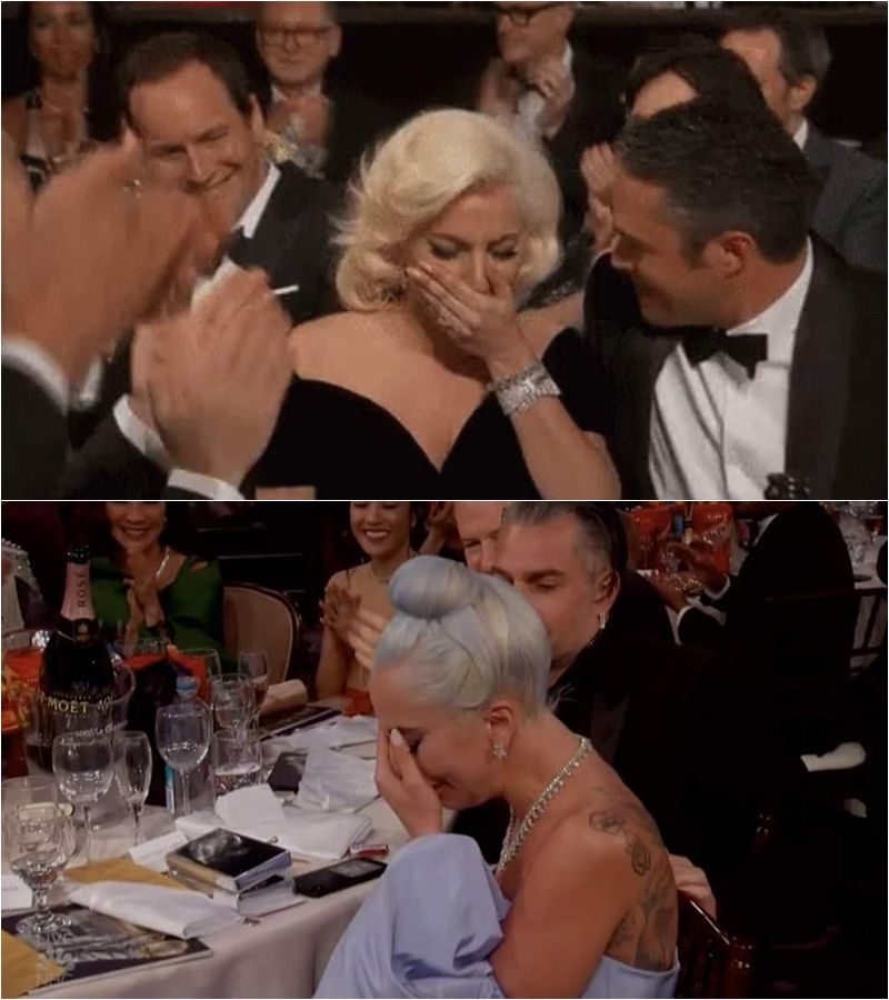 """Các """"Little Monster"""" đã nhanh tay đào lại khoảnh khắc Lady Gaga đạt """"Quả Cầu Vàng"""" lần thứ 73 được tổ chức vào năm 2016. Ba năm sau đấy, giây phút tên mình được vang lên, Lady Gaga vẫn xúc động như ngày nào. Có fan còn hóm hỉnh bình luận """"Có những thứ sẽ chẳng bao giờ thay đổi theo thời gian, trừ bạn trai của bạn"""" khi người bên cạnh Lady Gaga năm nay là Christian Carino."""