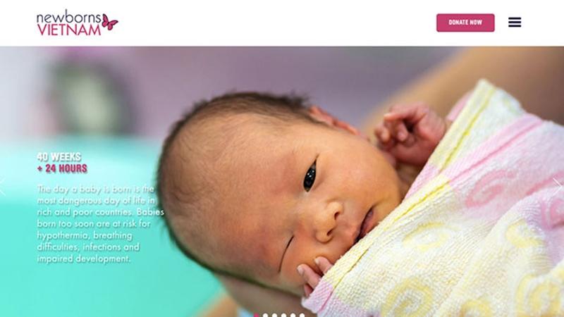 Năm 2018, PurpleAsia đã đồng hành cùng Newborns Việt Nam xây dựng và phát triển hình ảnh thương hiệu, nhằm lan tỏa ảnh hưởng của Tổ chức này trong và ngoài nước. Newborns Việt Nam là Tổ chức Phi Chính phủ với sứ mệnh chăm sóc và cải thiện sức khỏe cho trẻ sơ sinh tại miền Bắc và miền Trung Việt Nam.