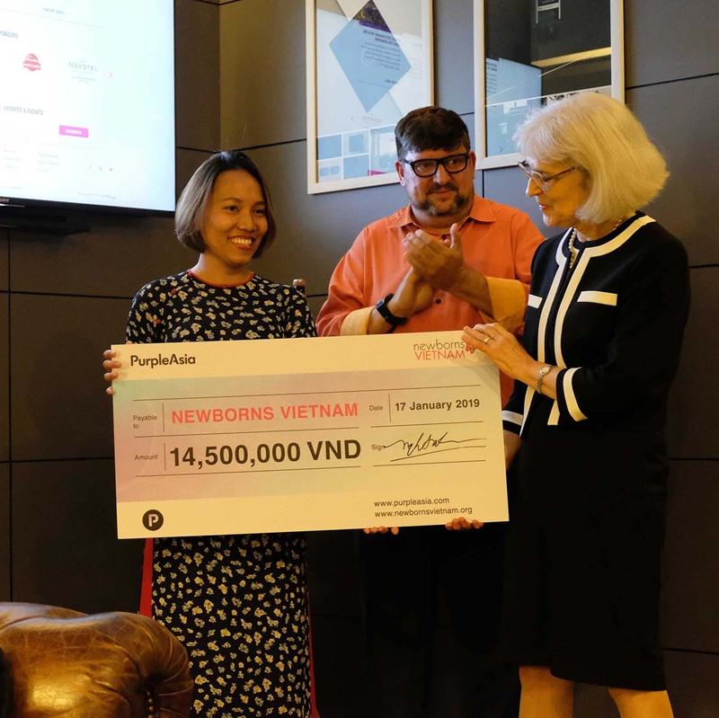 Tại sự kiện ra mắt website được tổ chức tại văn phòng PurpleAsia, bà Suzanna Lubran, Giám đốc Điều hành Newborns Việt Nam đã đánh giá cao sự đồng hành của PurpleAsia.