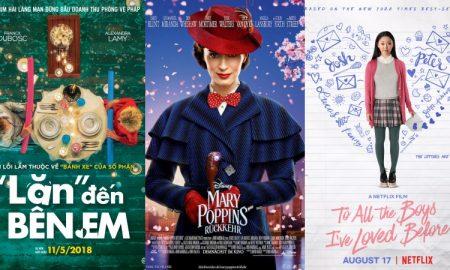 Những bộ phim mang đến năng lượng tích cực cho phái đẹp
