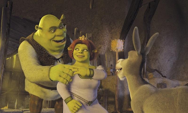 Chằn tinh Shrek đã làm trái tim của công chúa rung động.