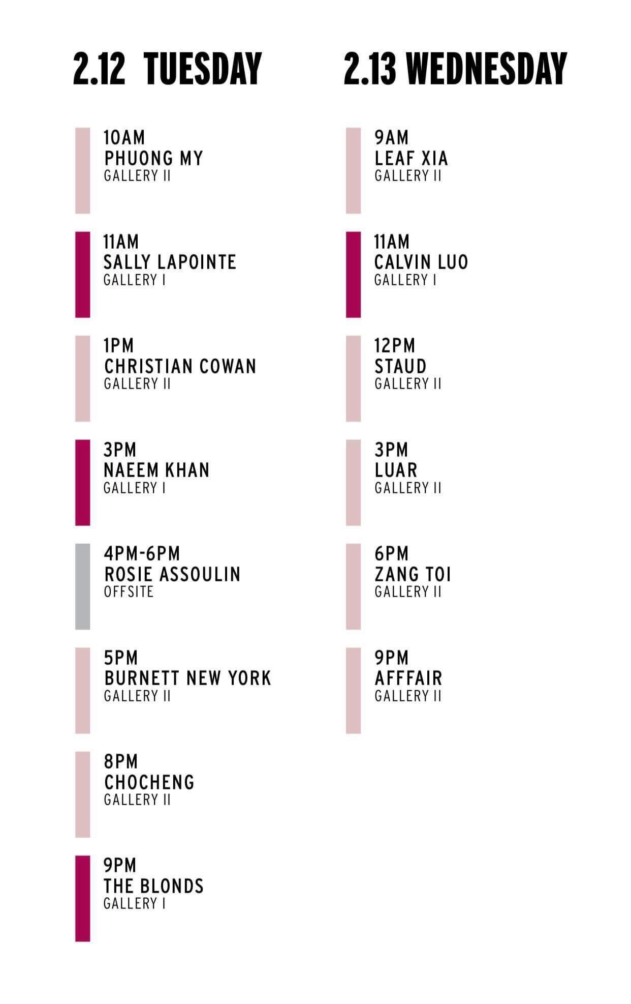 NYFW Thu Đông 2019 sẽ được diễn ra từ ngày 07/02 đến ngày 13/02 tại Spring Studios, thành phố New York (Mỹ). Show của PHUONG MY sẽ diễn ra vào ngày 12/02 và nằm trong khuôn khổ chính thức của NYFW.