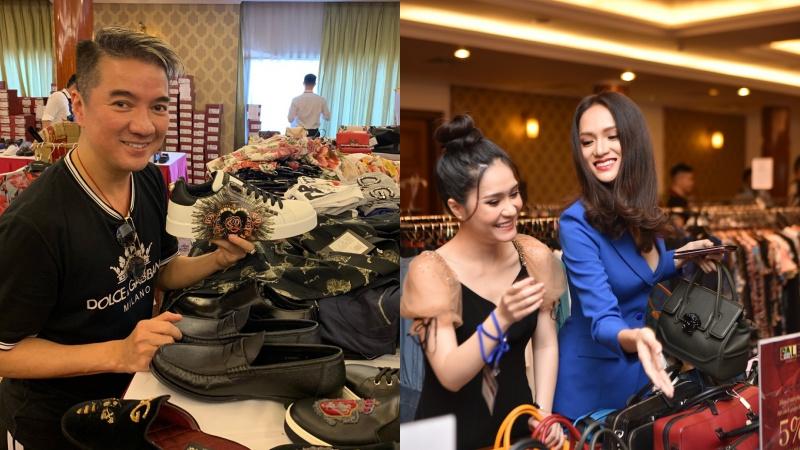 Ca sĩ Đàm Vĩnh Hưng, Hoa hậu Hướng Giang là những khách hàng quen thuộc của Private Sale.