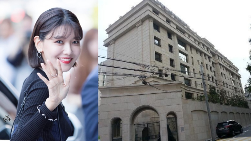 Tòa nhà của Sooyoung có sân golf, hệ thống an ninh đảmbảo.