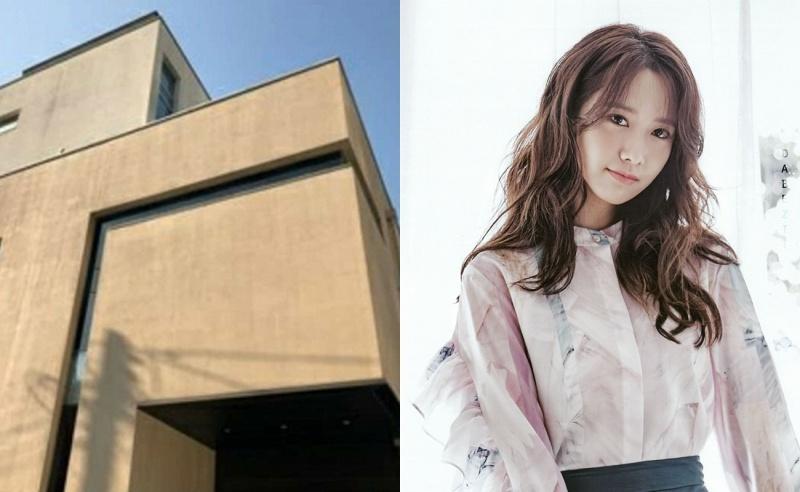 Bên ngoài ngôi nhà 6 tầng trị giá 200 tỷ đồng của YoonA.