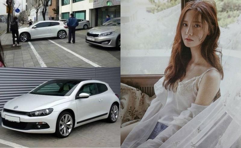 """Chiếc Volkswagencủa """"nữ thần Kpop"""" được phát hiện trên đường phố."""