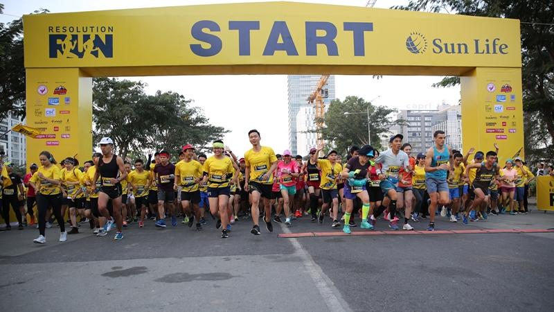"""3.000 người tham gia đường chạy """"Khởi Đầu Tỏa Sáng – Resolution Run 2019"""""""