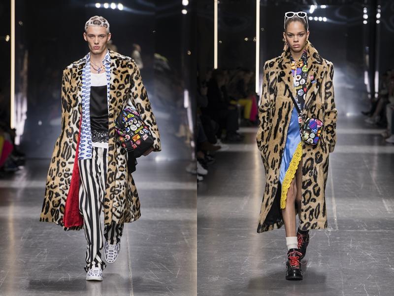 versace menswear fw2019 deponline runway 03 BST Thu Đông 2019 Versace – Sự trở lại lộng lẫy của một huyền thoại