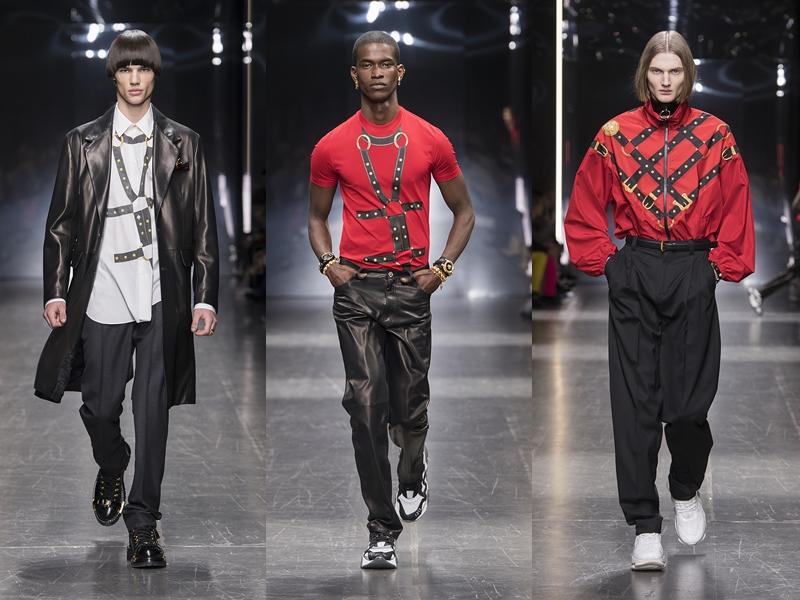 versace menswear fw2019 deponline runway 17 BST Thu Đông 2019 Versace – Sự trở lại lộng lẫy của một huyền thoại