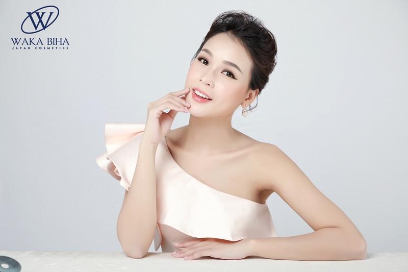 Diễn viên, MC Sam cô gái đa tài của ngành giải trí trở thành gương mặt đại diện cho nhãn hàng Waka Biha.