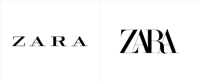 """Zara ra mắt logo mới: To hơn và """"chật chội"""" hơn"""