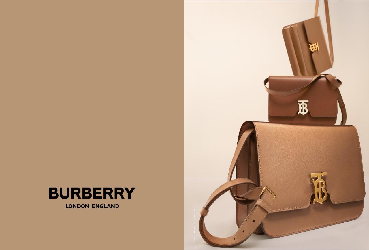 Dòng túi xách TB mới của Burberry được lăng xê liên tục, là một trong những sáng tạo mới của NTK Riccardo Tisci cho Burberry, hứa hẹn mang đến nhiều thành công trong thời gian tới.