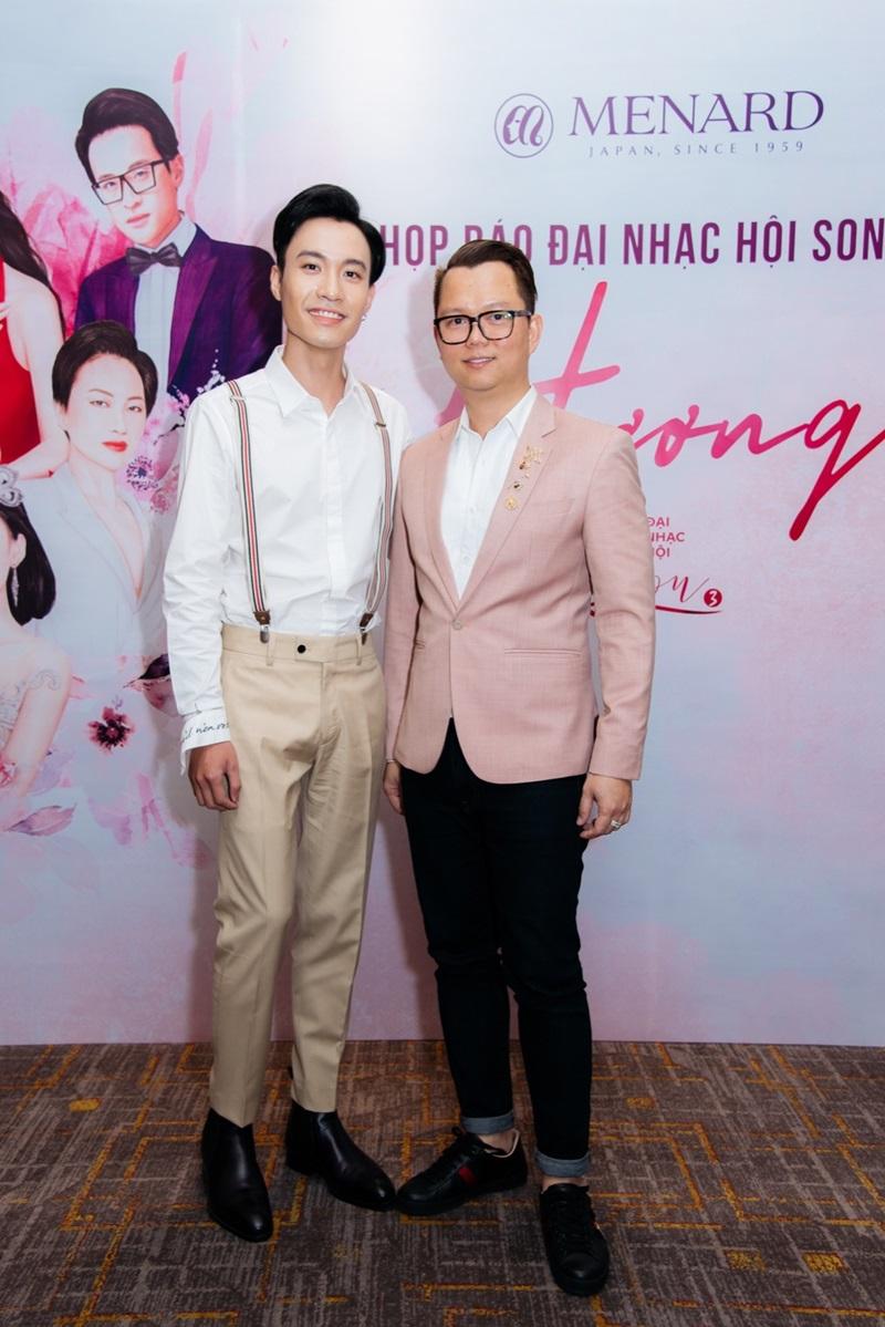 Đạo diễn Long Kan và ca sĩ Phạm Anh Duy