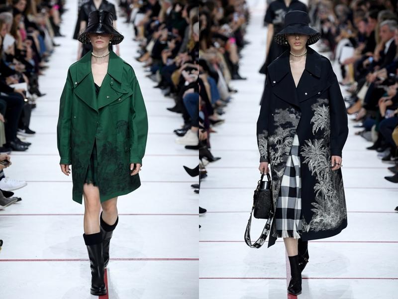 Cùng những mẫu áo khoác phom rộng theo phong cách oversized.