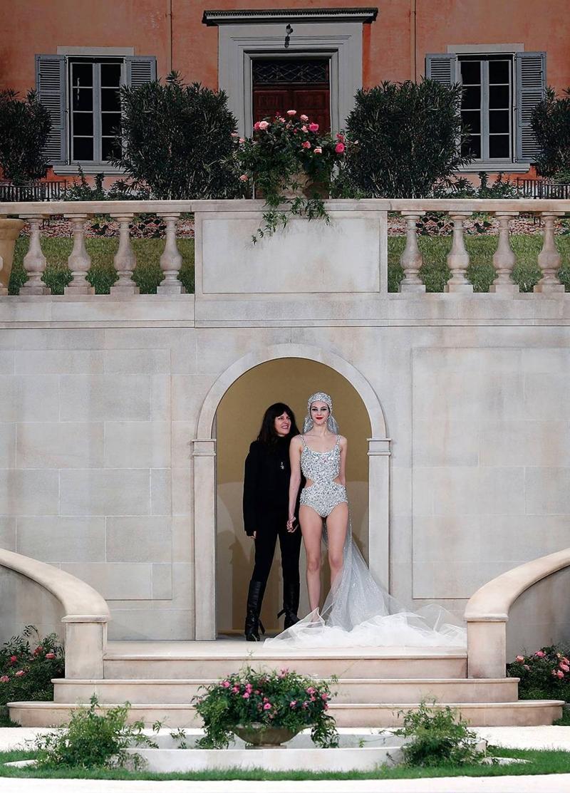 Karl Lagerfeld đã vắng mặt từ show diễn Haute Couture vào tháng 1 vừa qua.