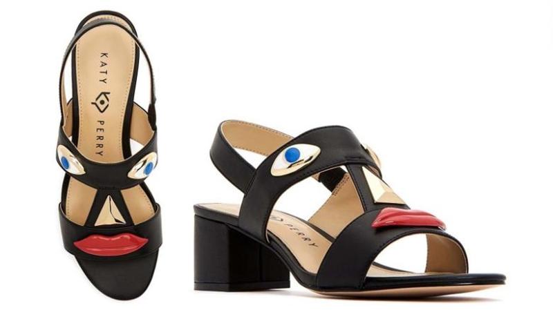 Cũng như trường hợp của Gucci, mẫu giày mule mà Katy Perry cho ra mắt cũng có khá nhiều mẫu mã với các kiểu kết hợp màu sắc khác nhau. Tuy nhiên, chỉ một mẫu giày mule đen với đôi môi đỏ này gây bức xúc bởi có liên quan đến kỳ thị sắc tộc.