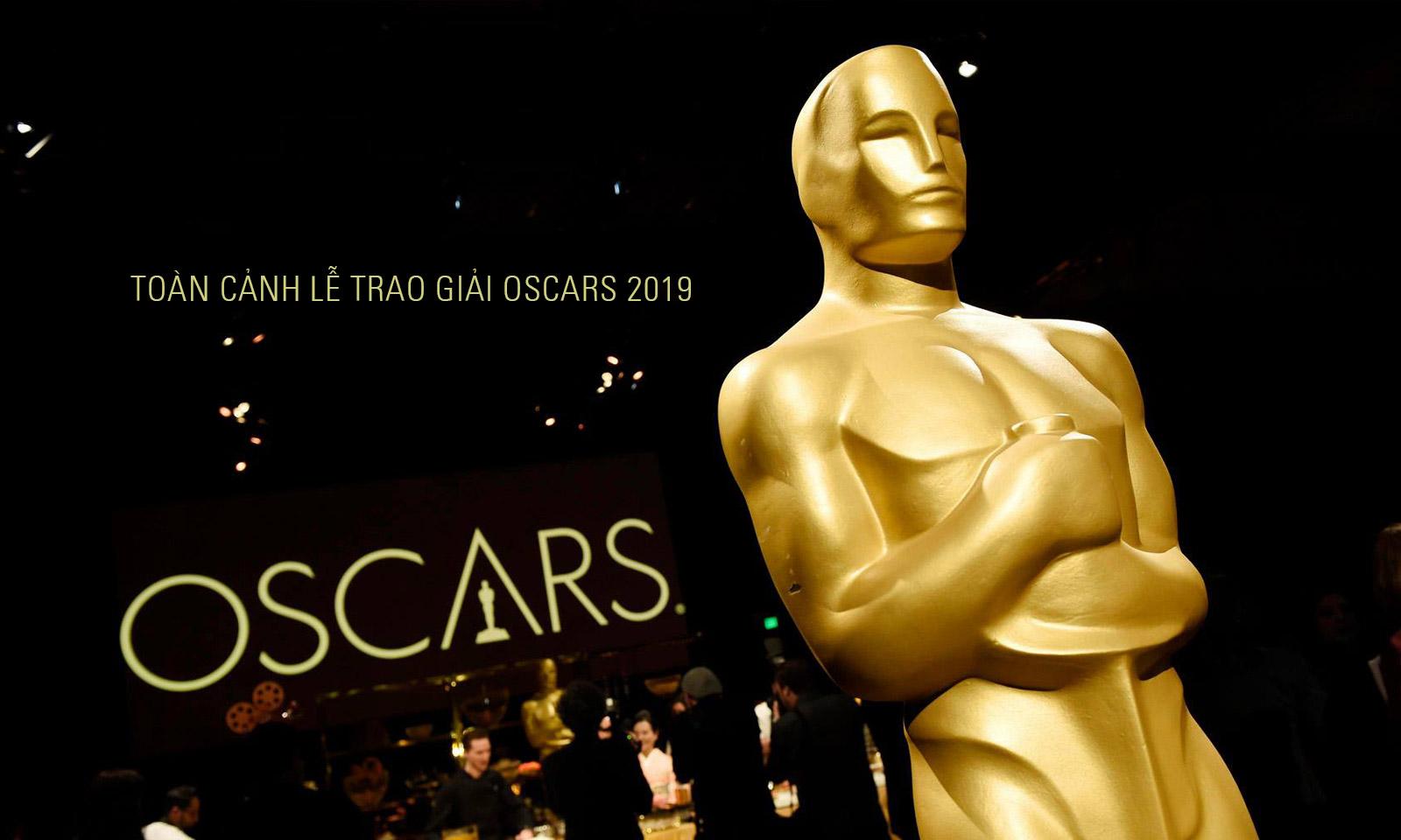 Toàn cảnh lễ trao giải Oscar 2019