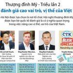 Thượng đỉnh Mỹ-Triều: Thế giới đánh giá cao vị thế của Việt Nam