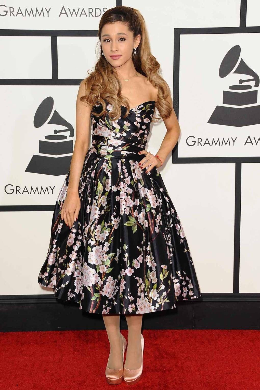 Ariana lần đầu xuất hiện tại Grammy vào nằm 2014