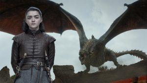 """Tiết lộ từ clip quảng bá """"Game of Thrones"""": Arya chính là kỵ sĩ rồng?"""