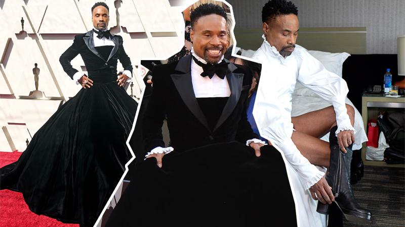 """Billy Porter mặc váy tại Oscar 2019: """"Thật khó khi bạn là người da đen và đồng tính"""""""