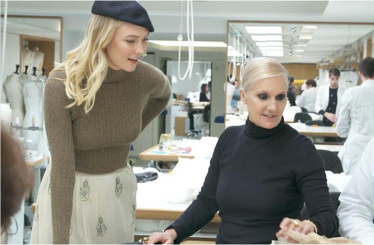 """Cùng Karlie Kloss khám phá """"thâm cung bí sử"""" tại nhà mốt Dior với những sáng tạo tuyệt đẹp"""
