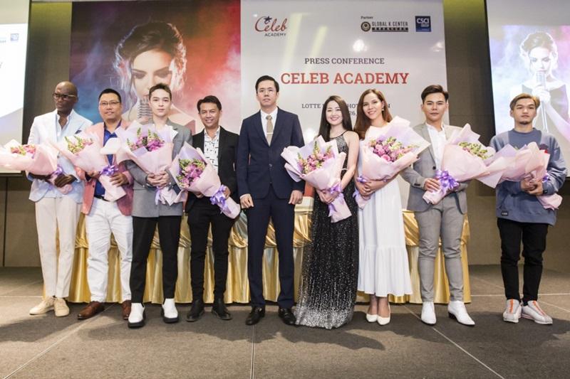 Các giảng viên của Học viện Celeb Acedamy.
