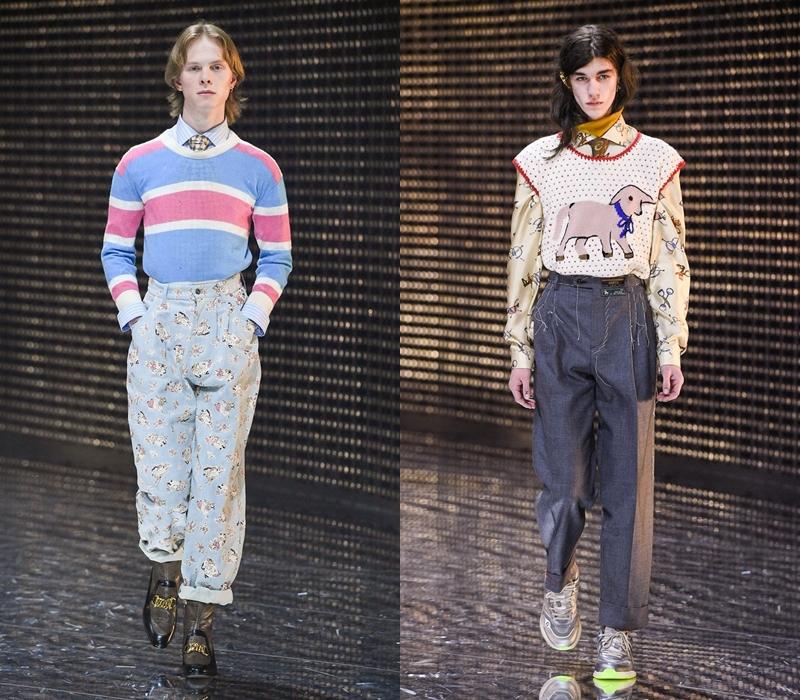"""Những chiếc áo jumper, áo cardigan với tông màu nhẹ nhàng, trẻ trung được nhấn nhá bằng những thông điệp """"mạnh mồm"""" chắc chắn sẽ thu hút khách hàng trẻ tuổi."""