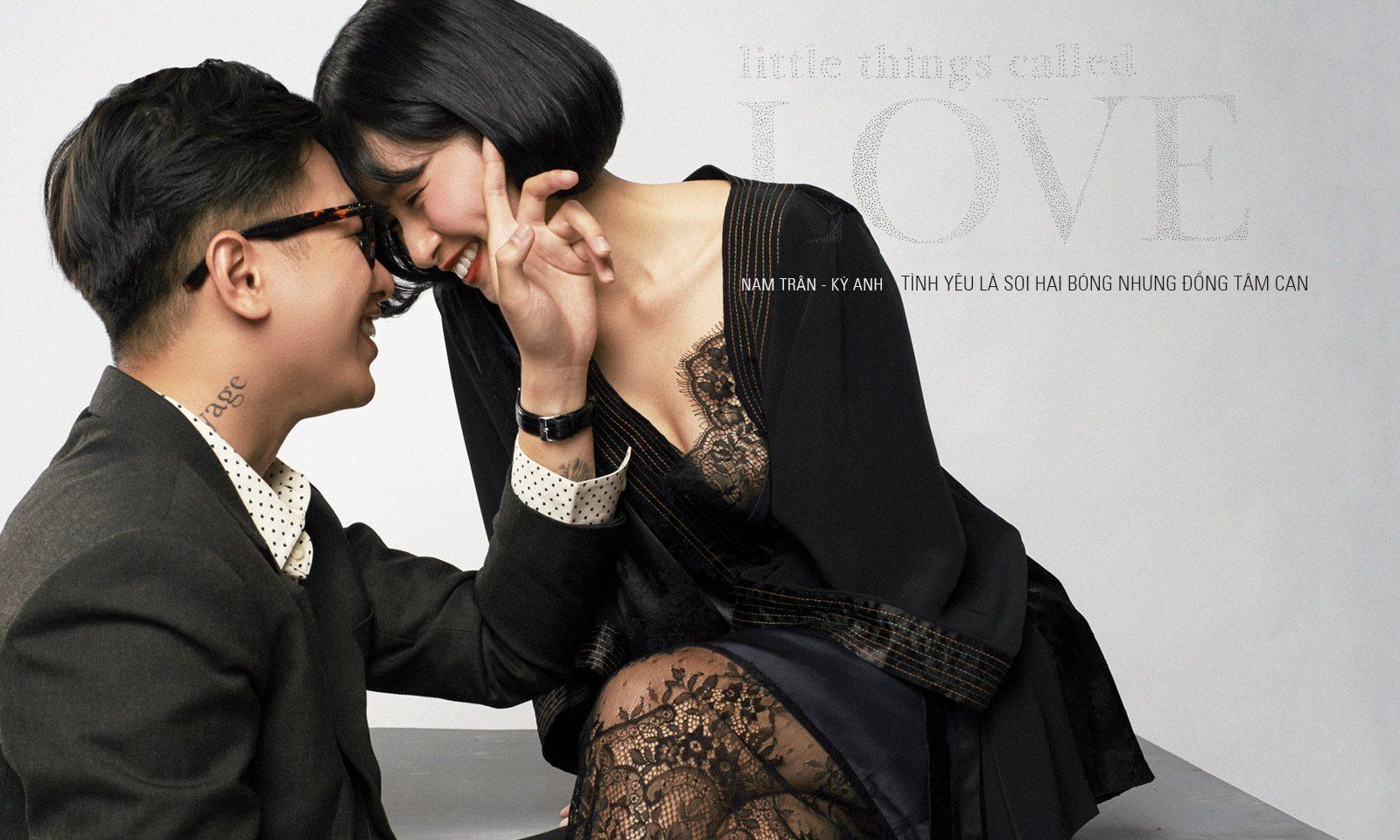 Nhà thơ Nam Trân – Nhiếp ảnh gia Kỳ Anh Trần: Tình yêu là soi hai bóng nhưng đồng tâm can