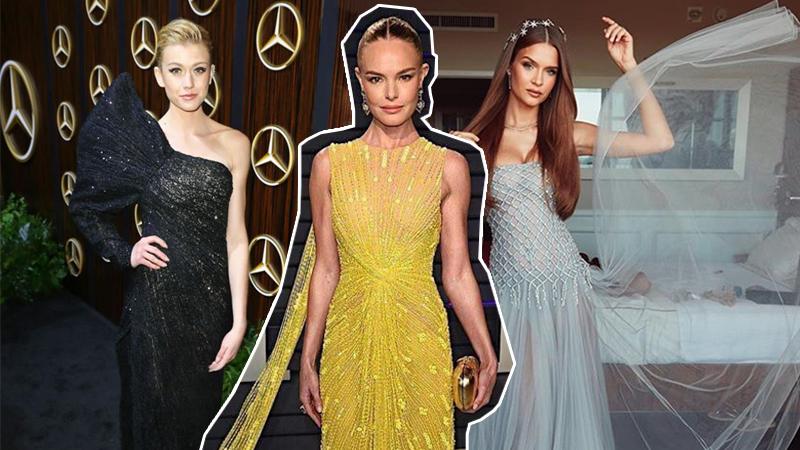 Fan quốc tế nói gì về 3 bộ váy của NTK Công Trí tại Oscar Party 2019